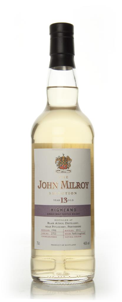 The John Milroy 13 Year Old Highland (Berry Brothers and Rudd) Single Malt Whisky