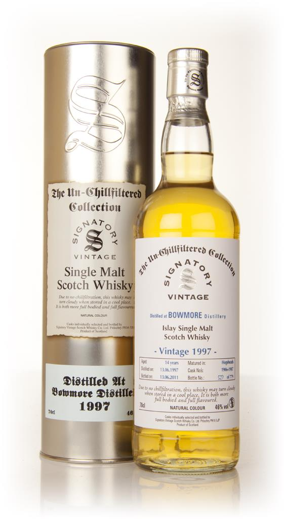 Bowmore 14 Year Old 1997 - Un-Chillfiltered (Signatory) Single Malt Whisky