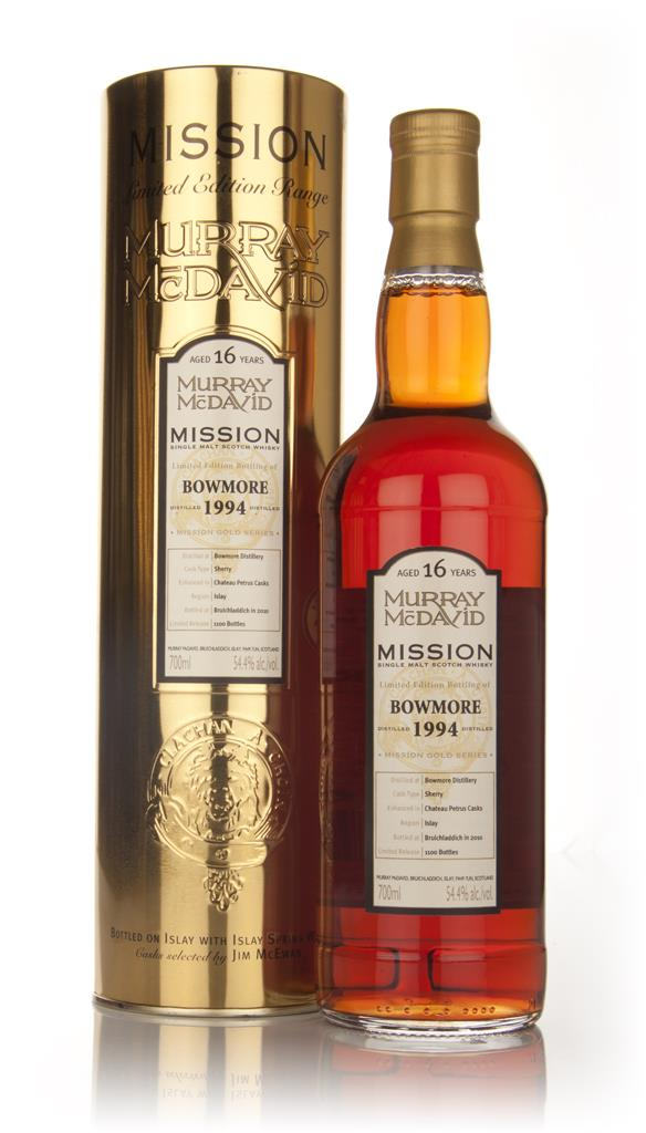 Bowmore 16 Year Old 1994 - Mission (Murray McDavid) Single Malt Whisky