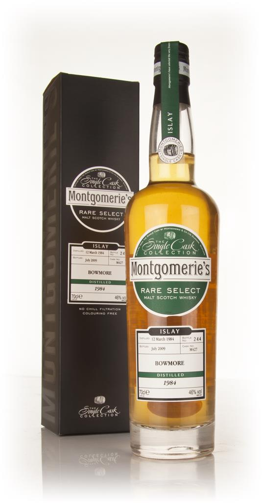 Bowmore 25 Year Old 1984 - Rare Select (Montgomeries) Single Malt Whisky