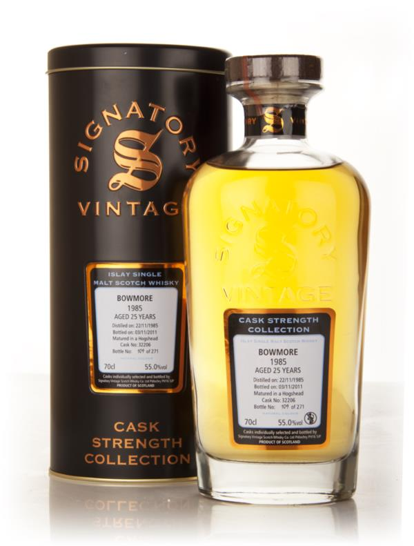 Bowmore 25 Year Old 1985 Cask 32206 - Cask Strength Collection (Signat Single Malt Whisky
