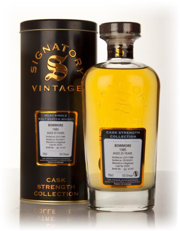 Bowmore 25 Year Old 1985 Cask 32207 - Cask Strength Collection (Signat Single Malt Whisky
