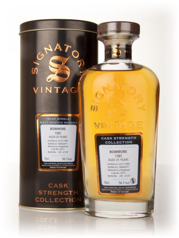 Bowmore 25 Year Old 1985 Cask 32211 - Cask Strength Collection (Signat Single Malt Whisky