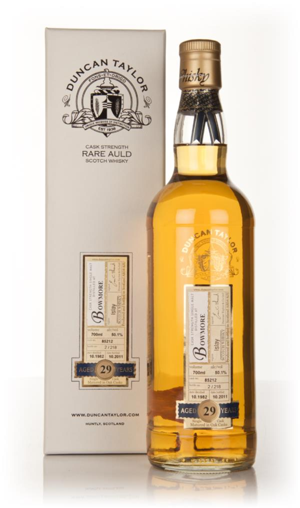 Bowmore 29 Year Old 1982 - Rare Auld (Duncan Taylor) Single Malt Whisky