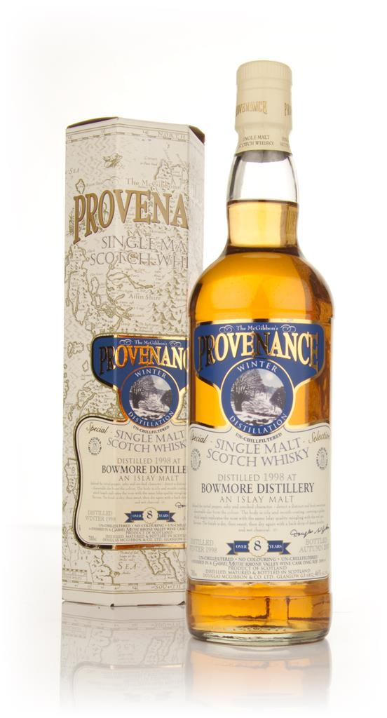 Bowmore 8 Year Old 1998 - Provenance (Douglas Laing) Single Malt