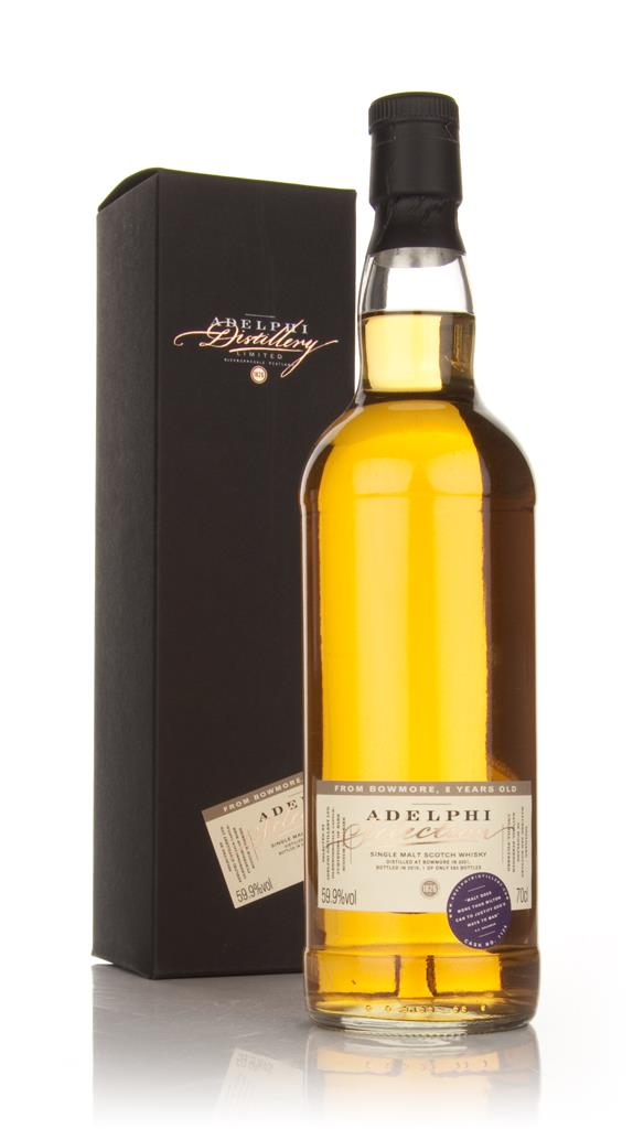 Bowmore 8 Year Old 2001 (Adelphi) Single Malt Whisky