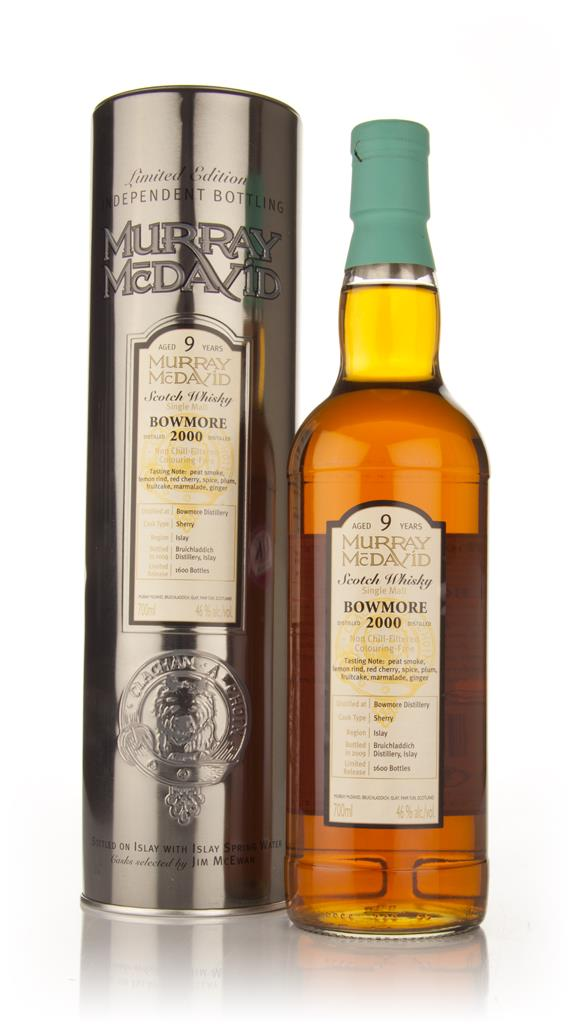 Bowmore 9 Year Old 2000 (Murray McDavid) Single Malt Whisky