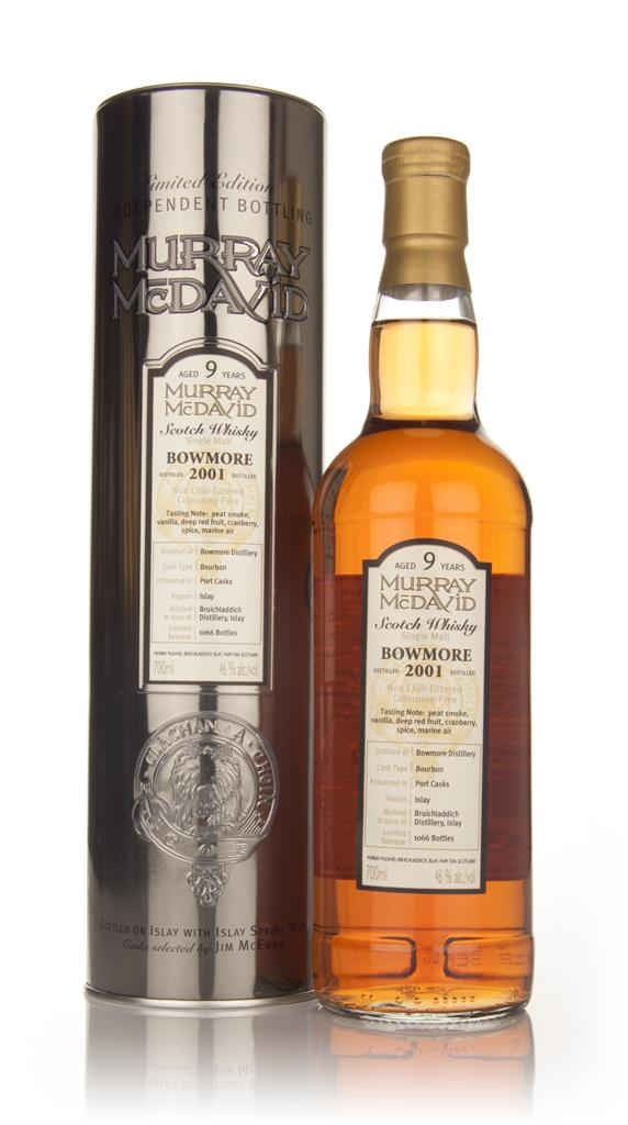 Bowmore 9 Year Old 2001 (Murray McDavid) Single Malt Whisky