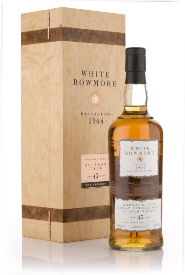 Bowmore White Bowmore 43 Year Old 1964 Single Malt Whisky