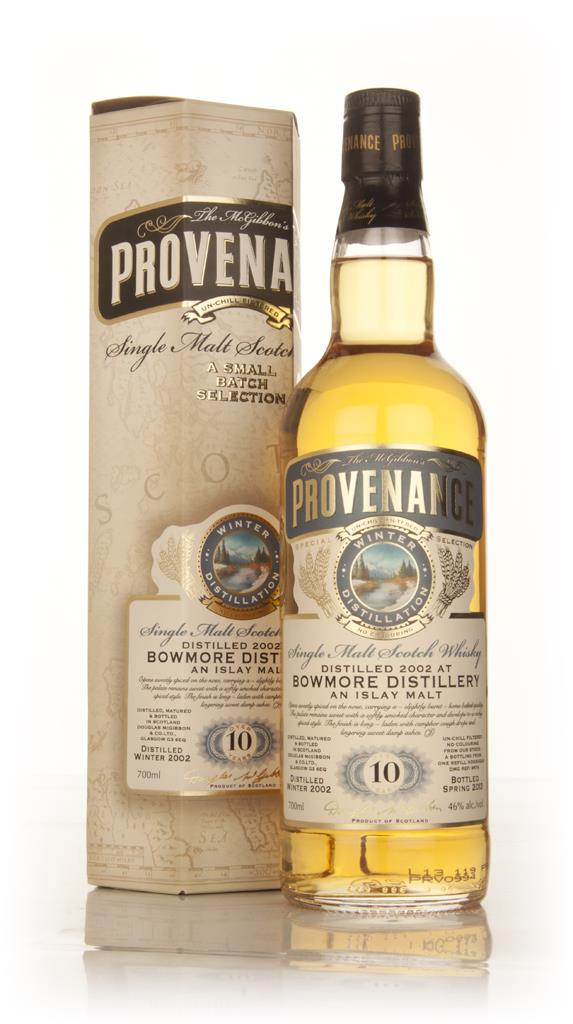 Bowmore 10 Year Old 2002 (cask 9574) - Provenance (Douglas Laing) Single Malt Whisky