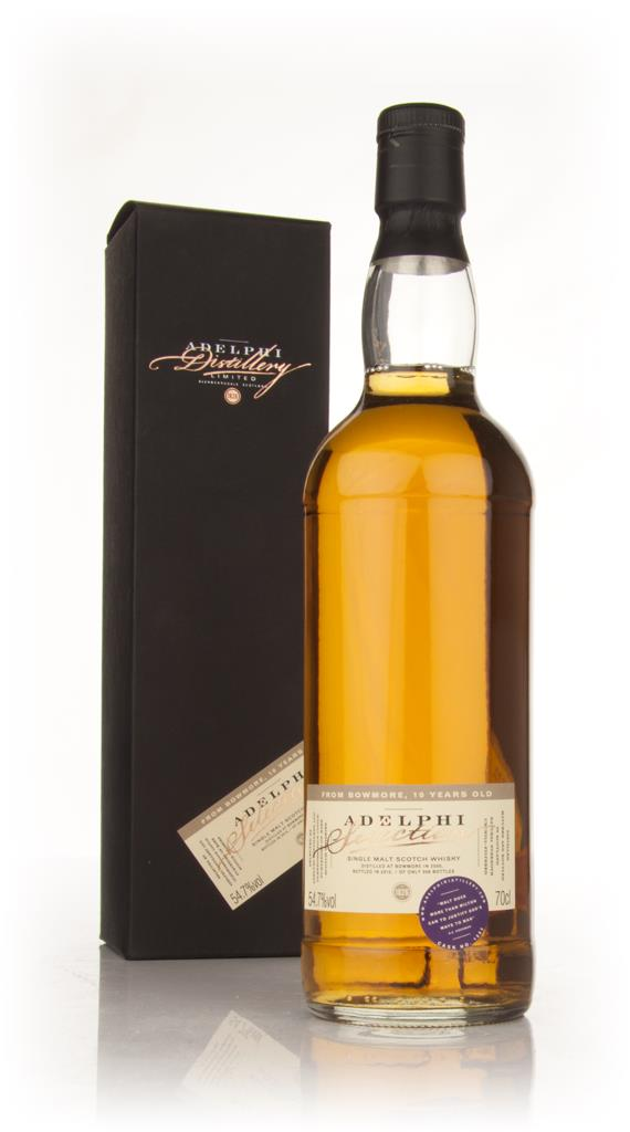 Bowmore 10 Year Old (Adelphi) Single Malt Whisky