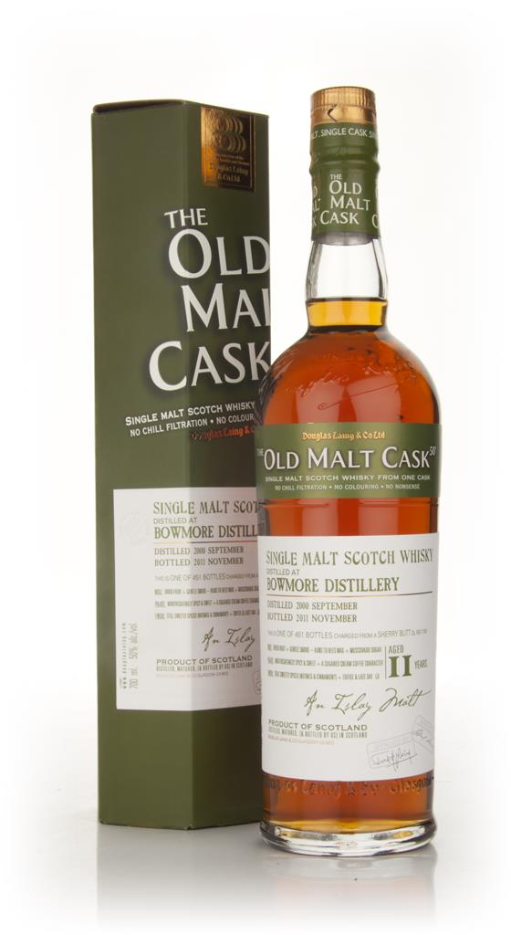 Bowmore 11 Year Old 2000 (Cask 7858) - Old Malt Cask (Douglas Laing) Single Malt Whisky