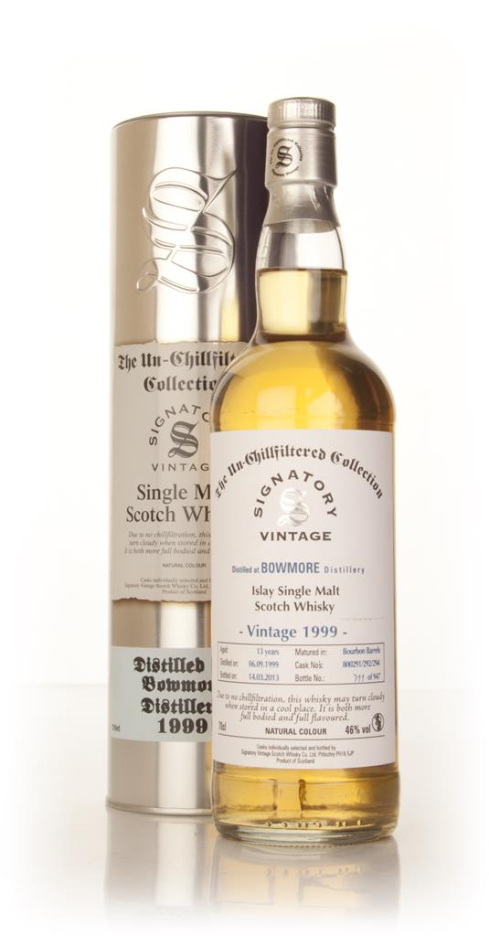 Bowmore 13 Year Old 1999 (casks 800291/292/294) - Un-Chillfiltered (Si Single Malt Whisky