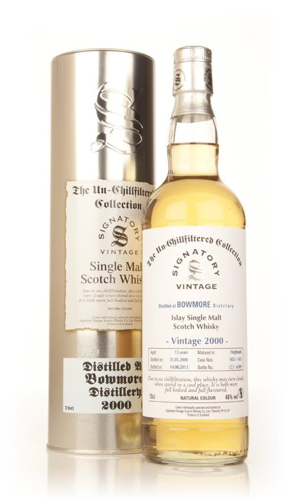 Bowmore 13 Year Old 2000 (casks 1432+1433) - Un-Chillfiltered Collecti Single Malt Whisky