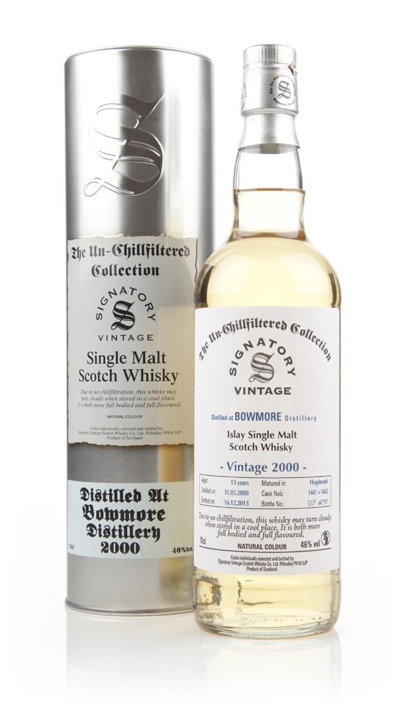 Bowmore 13 Year Old 2000 (casks 1441+1442) - Un-Chillfiltered (Signato Single Malt Whisky