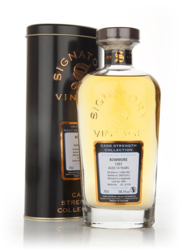 Bowmore 14 Year Old 1997 - Cask Strength Collection (Signatory Single Malt Whisky