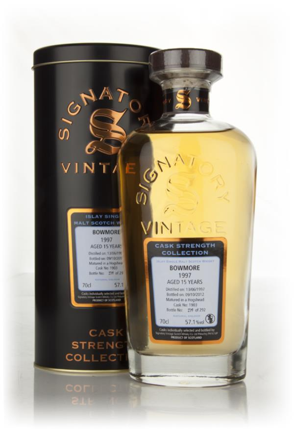 Bowmore 15 Year Old 1997 Cask 1903 - Cask Strength Collection (Signato Single Malt Whisky