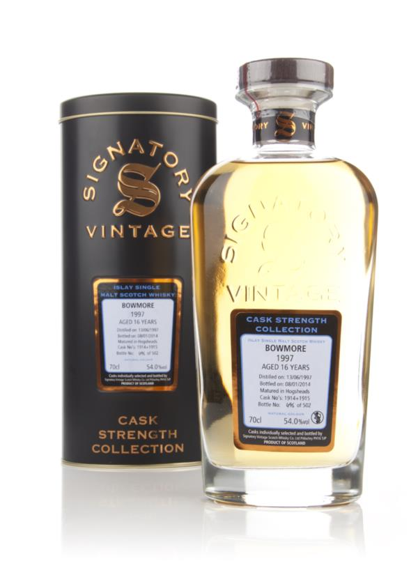 Bowmore 16 Year Old 1997 (casks 1914+1915) - Cask Strength Collection Single Malt Whisky