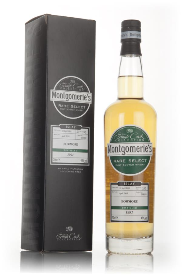 Bowmore 1991 (bottled 2016) (cask 253010) - Rare Select (Montgomerie's Single Malt Whisky 3cl Sample