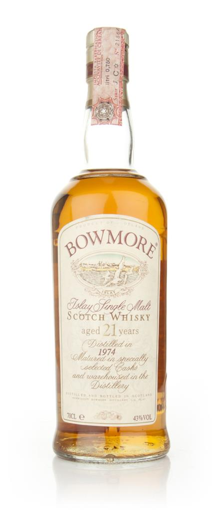 Bowmore 21 Year Old 1974 Single Malt Whisky