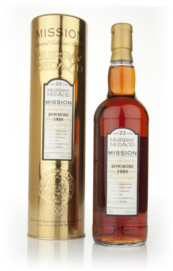 Bowmore 22 Year Old 1989 - Mission (Murray McDavid) Single Malt Whisky
