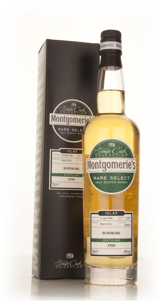 Bowmore 22 Year Old 1990 (cask 185078) - Rare Select (Montgomeries) Single Malt Whisky