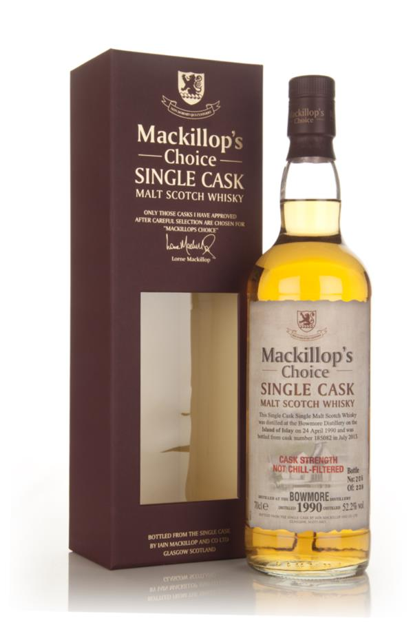 Bowmore 23 Year Old 1990 (cask 185082) - Mackillop's Choice Single Malt Whisky
