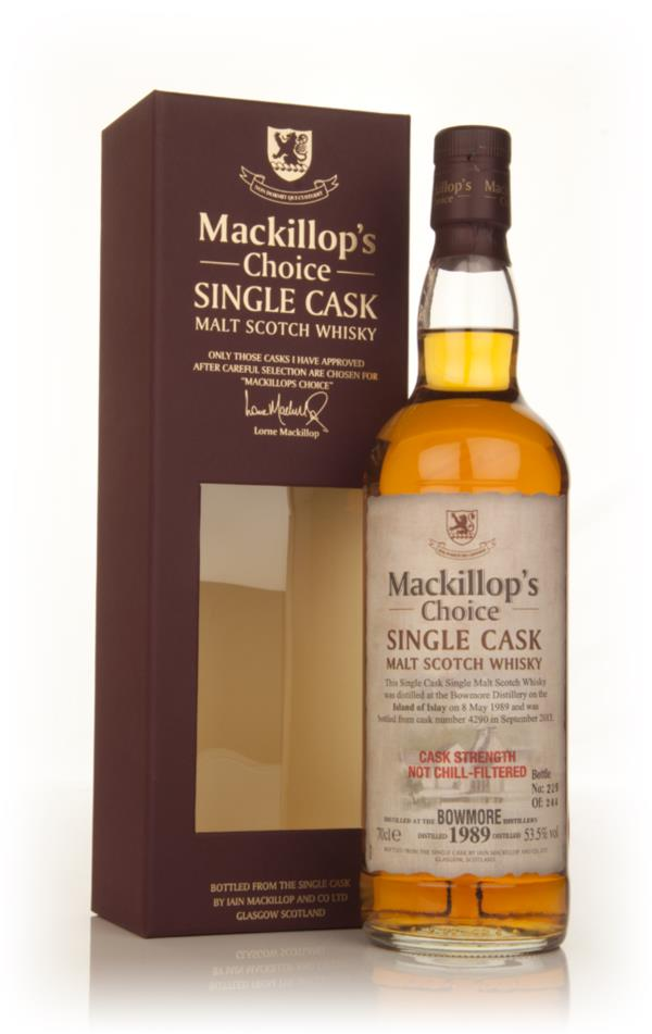 Bowmore 24 Year Old 1989 (cask 4290) - Mackillop's Choice Single Malt Whisky