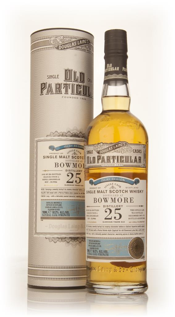 Bowmore 25 Year Old 1987 (cask 9906) - Old Particular (Douglas Laing) Single Malt Whisky