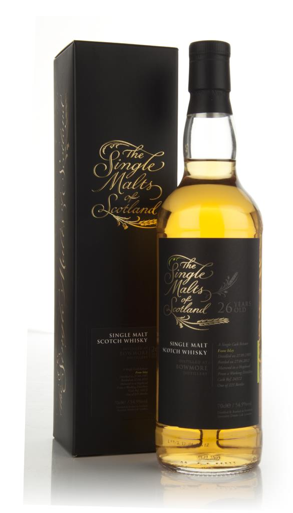 Bowmore 26 Year Old 1985 - The Single Malts of Scotland (Speciality Dr Single Malt Whisky