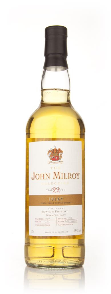 The John Milroy 22 Year Old Islay (Berry Brothers and Rudd) Single Malt Whisky