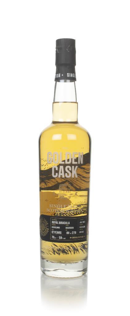 Royal Brackla 12 Year Old 2007 (cask CM255) - The Golden Cask (House o Single Malt Whisky