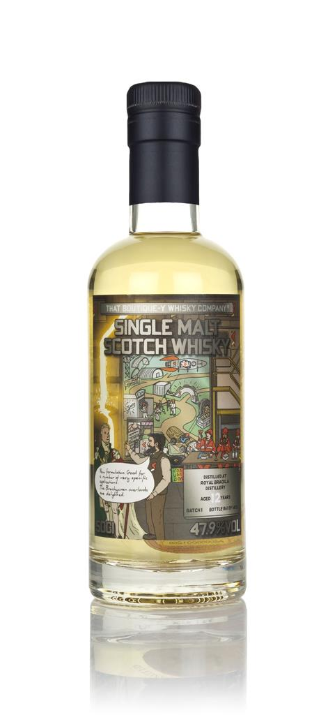 Royal Brackla 12 Year Old (That Boutique-y Whisky Company) Single Malt Whisky