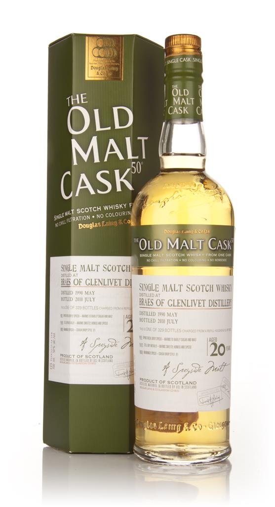 Braes of Glenlivet 20 Year Old 1990 - Old Malt Cask (Douglas Laing) Single Malt Whisky