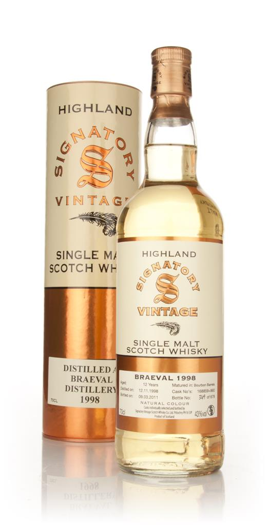 Braeval 12 Year Old 1998 (Signatory) Single Malt Whisky