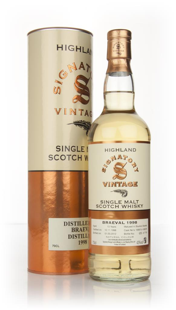 Braeval 13 Year Old 1998 (Signatory) Single Malt Whisky