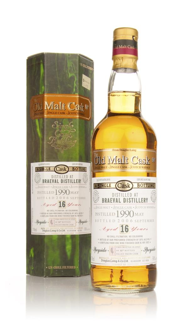 Braeval 16 Year Old 1990 - Old Malt Cask (Douglas Laing) Single Malt