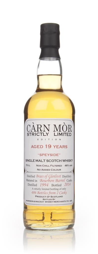 Braes Of Glenlivet 19 Year Old 1994 - Strictly Limited (Carn Mor) Single Malt Whisky