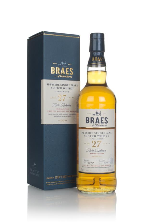 Braes of Glenlivet 27 Year Old - Secret Speyside Collection Single Malt Whisky