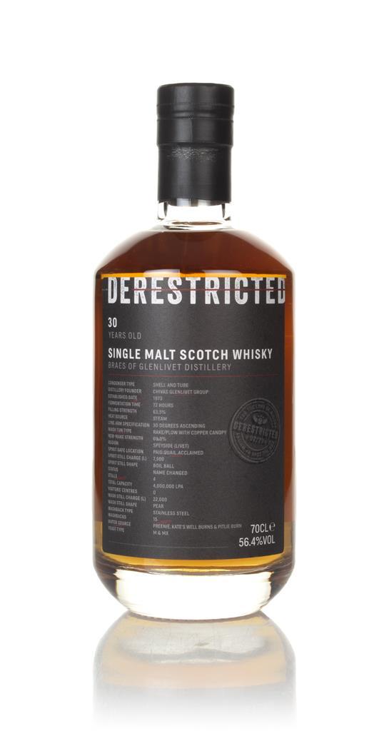 Braes of Glenlivet 30 Year Old - Derestricted Single Malt Whisky