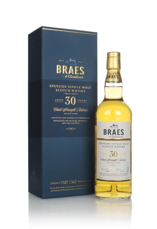 Braes of Glenlivet 30 Year Old - Secret Speyside Collection Single Malt Whisky