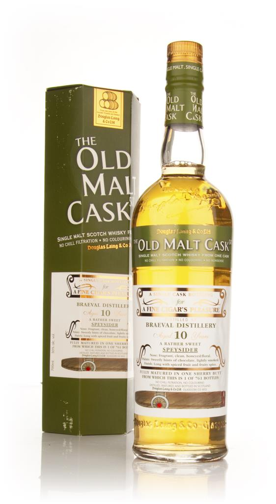 Braeval 10 Year Old Cigar Malt - Old Malt Cask (Douglas Laing) Single Malt Whisky