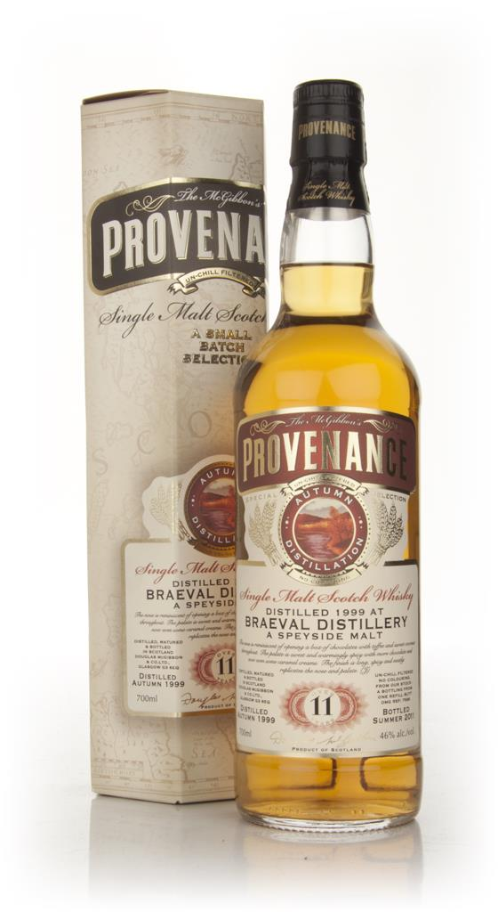 Braeval 11 Year Old 1999 - Provenance (Douglas Laing) Single Malt Whisky