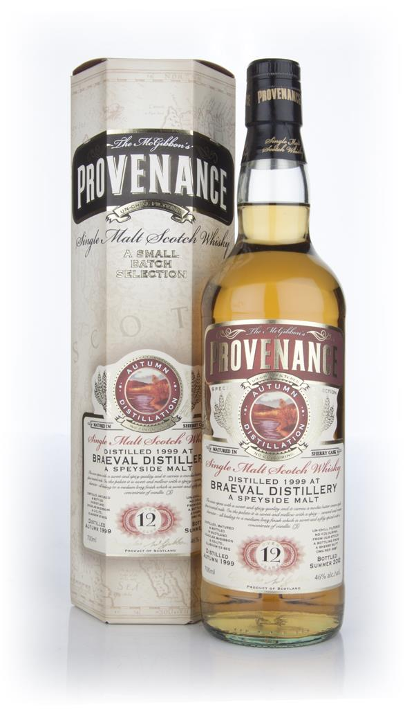 Braeval 12 Year Old 1999 (Cask 8887) - Provenance (Douglas Laing) Single Malt Whisky