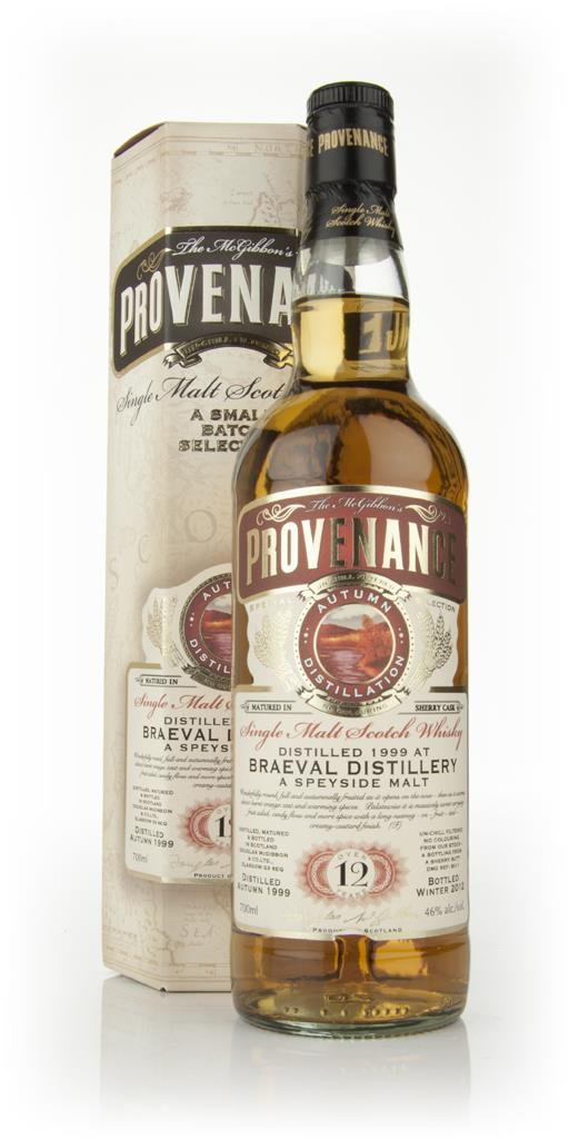 Braeval 12 Year Old 1999 - Provenance (Douglas Laing) Single Malt Whisky