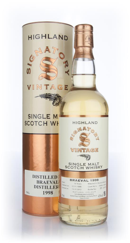 Braeval 14 Year Old 1998 (Signatory) Single Malt Whisky