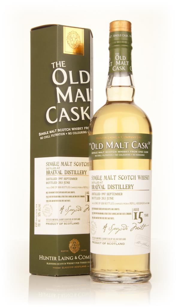 Braeval 15 Year Old 1997 (cask 9888) - Old Malt Cask (Hunter Laing) Single Malt Whisky