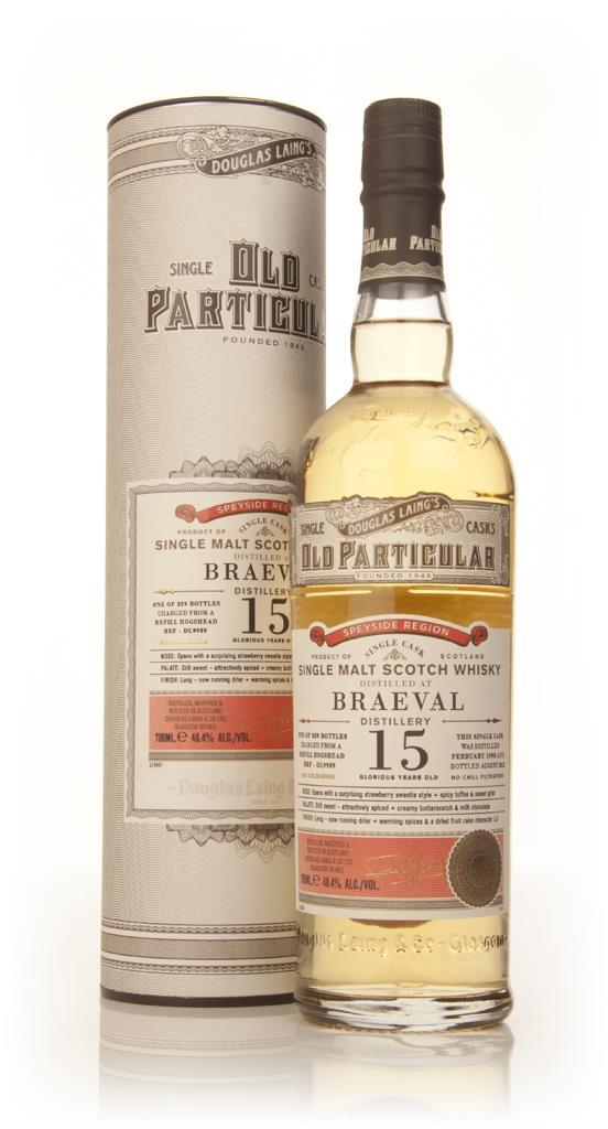 Braeval 15 Year Old 1998 (cask 9989) - Old Particular (Douglas Laing) Single Malt Whisky
