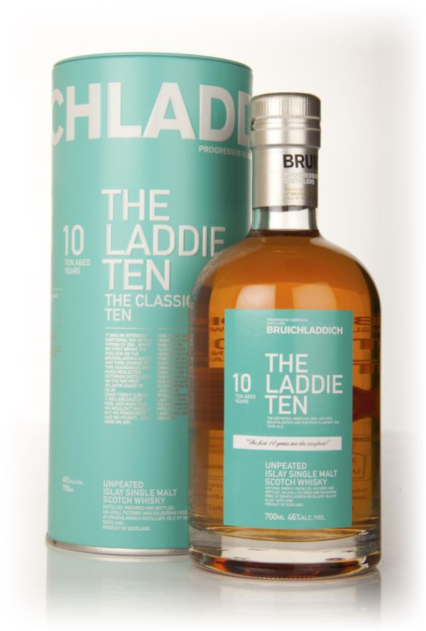 Bruichladdich 10 Year Old - The Laddie Ten Single Malt Whisky