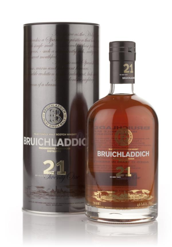 Bruichladdich 21 Year Old Oloroso Cask Finish Single Malt Whisky